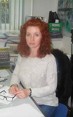 Лукьяненко Наталья — ведущий специалист по проектам фонда
